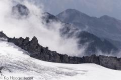 Frankrijk Oostenrijk, Zwitserland, Alpen, hooggebergte, herfstkleuren, schluchten