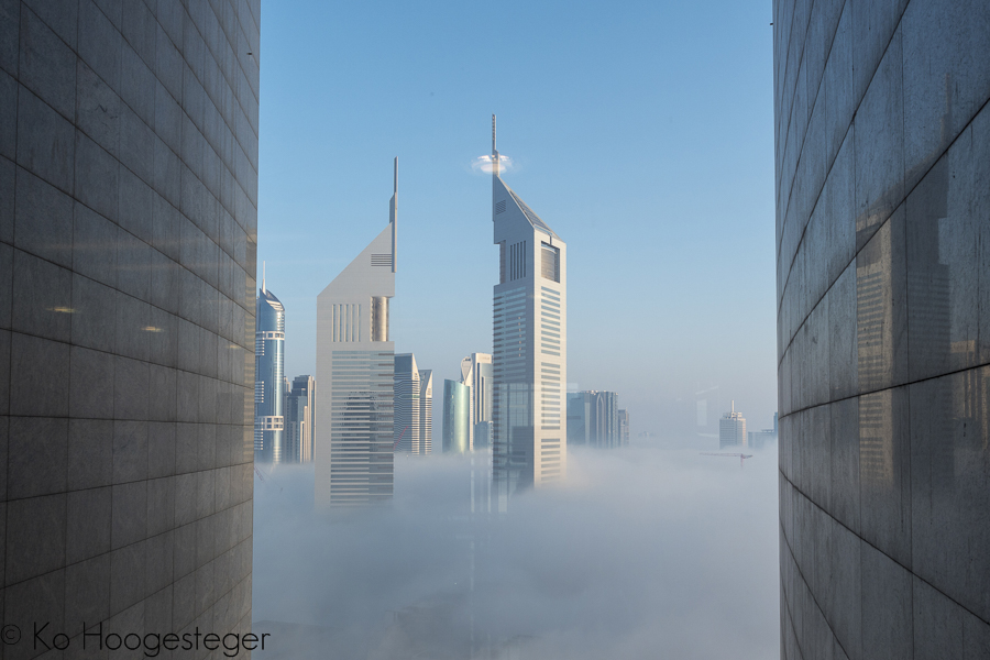 Verenigde Aarabische Emiraten, Dubai, Emerates Towers