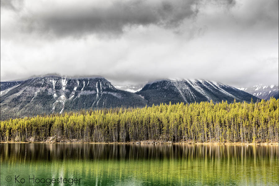 Canada 2016, Icefield Parkway Bowlake