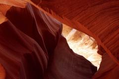 Panorama Antelope Canyon Utah Verenigde Staten
